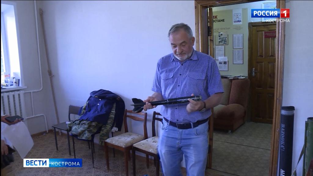 В Костроме появится музей «Боевое братство»