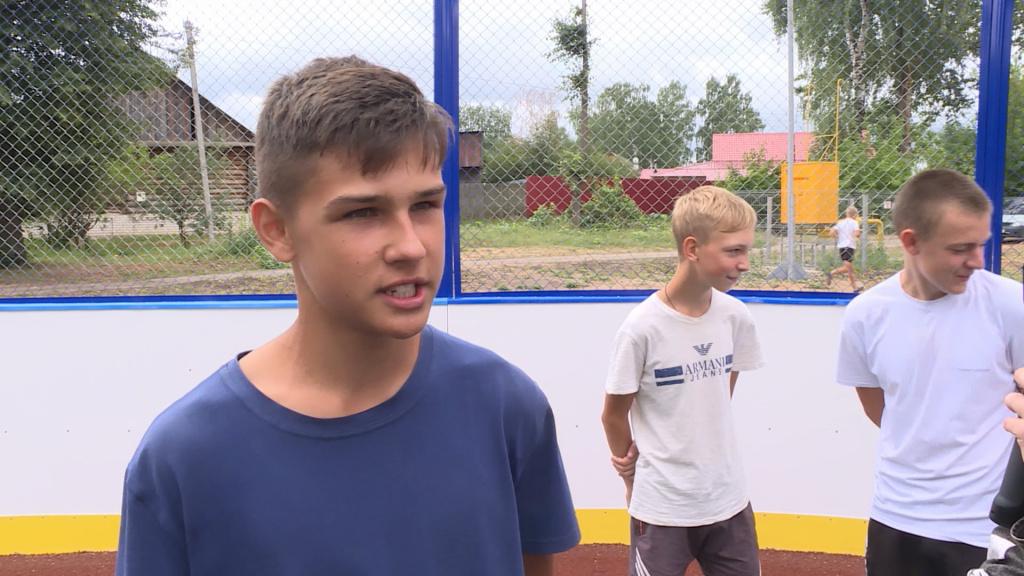 Новые спортплощадки появились ещё в двух школах Нерехты