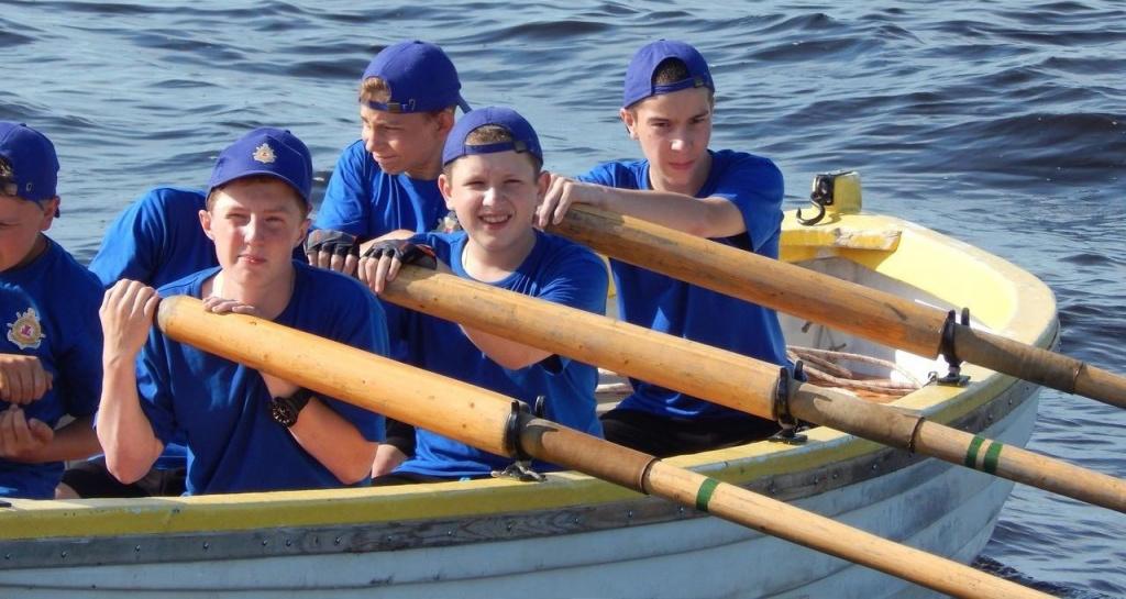 Юные моряки из Костромы поучаствовали во всероссийском слёте